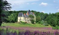 Château de Brou vu du parc