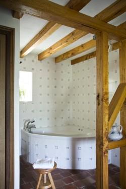 Photo de la salle de bain La Roseraie