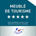 Meublé tourisme 5 étoiles