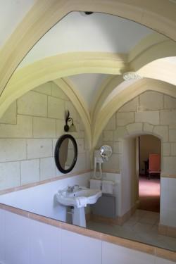 Salle de bain de la suite Henry IV