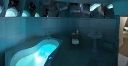 Salle de bain de la chambre Jeanne d'Arc