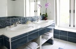 Salle de bain de la suite Richelieu