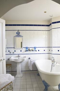 Salle de bain de la chambre Gabrielle d'Estrée