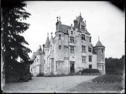 Visuel historique du château de Brou